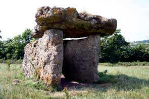 St Lythams Neolithiic Burial Chamber, Vale of Glamorgan