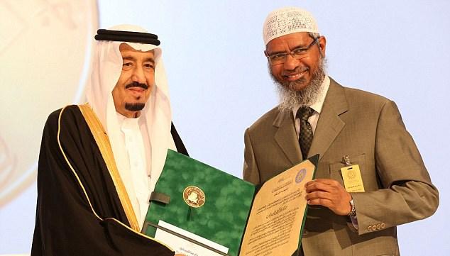 India Berupaya Ekstradisi Zakir Naik dari Malaysia