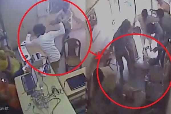 तमंचा लेकर आये थे बैंक लूटने, लोगों ने गिराकर मारा, लात-घूंसों से पटक पटक का मारा: देखें VIDEO