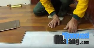 harga pemasangan lantai kayu malang