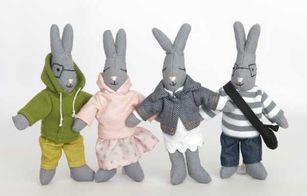 knuffels konijnen
