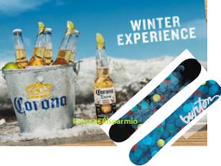 Logo Con Corona Winter Experience vinci snowbord Burton