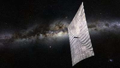 Solar Sail Craft to be the First to Reach Alpha Centauri