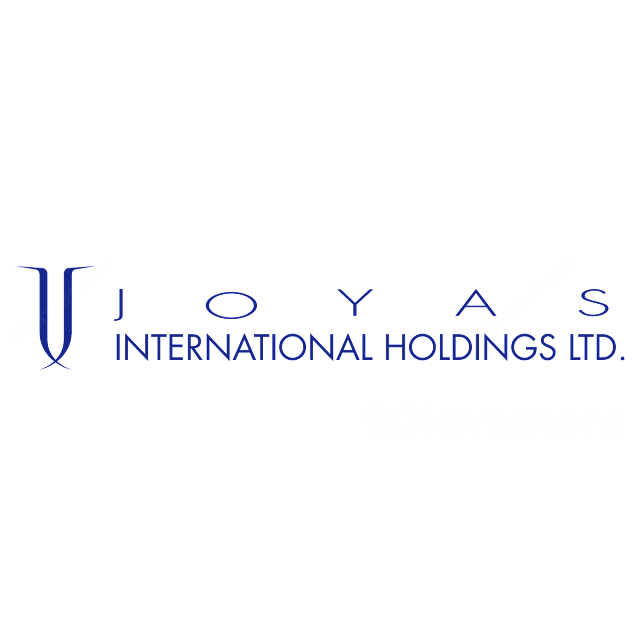 JOYAS INTERNATIONAL HLDGS LTD (E9L.SI) @ SG investors.io