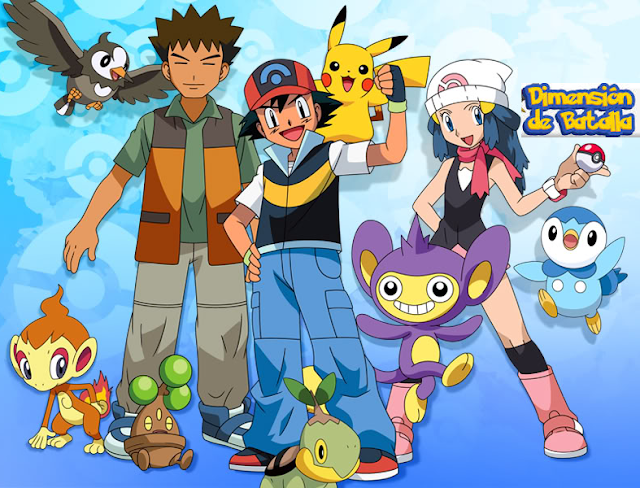 Pokémon: Diamante y Perla: Dimencion de Batalla (52/52) (55MB) (HDL) (Latino) (Mega)