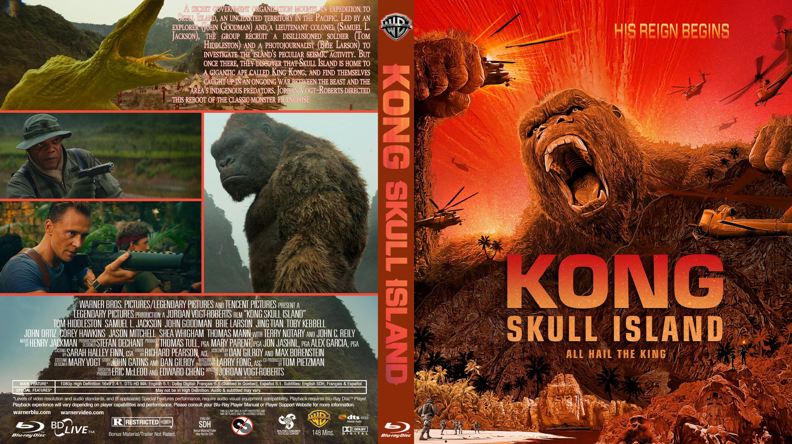 Kong Skull Island  Dvd