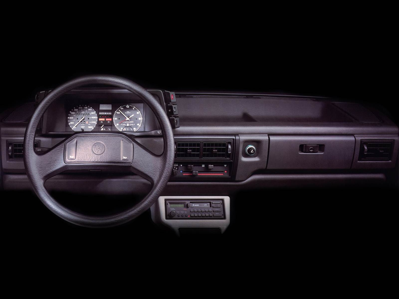 VW Voyage Fox - EUA - interior