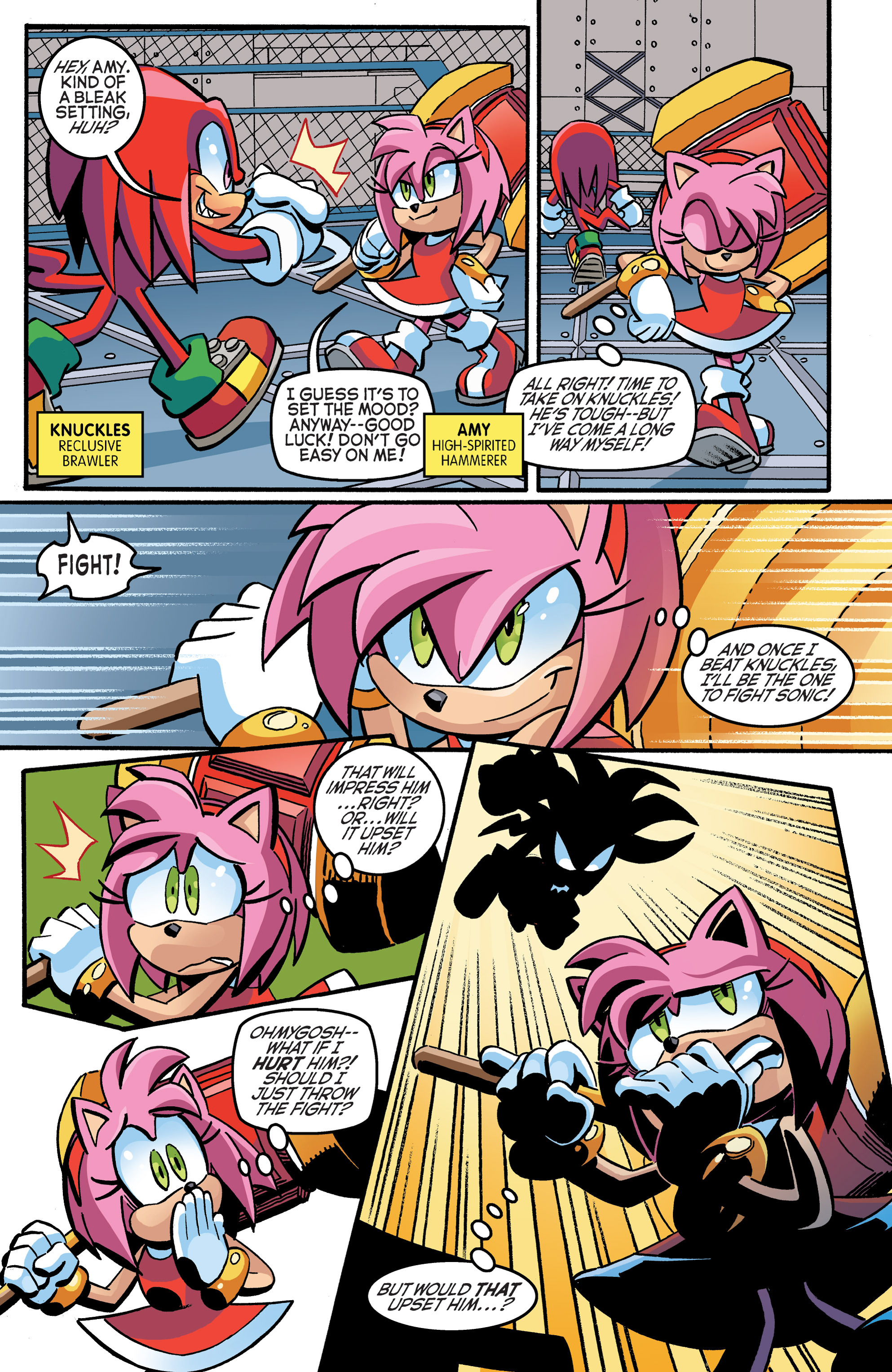 Read online Sonic The Hedgehog comic -  Issue #270 - 10