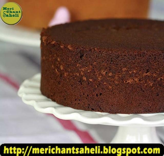 Best birthday cake recipe in hindi (Easy Choclate Birthday Cake) from Meri chant saheli