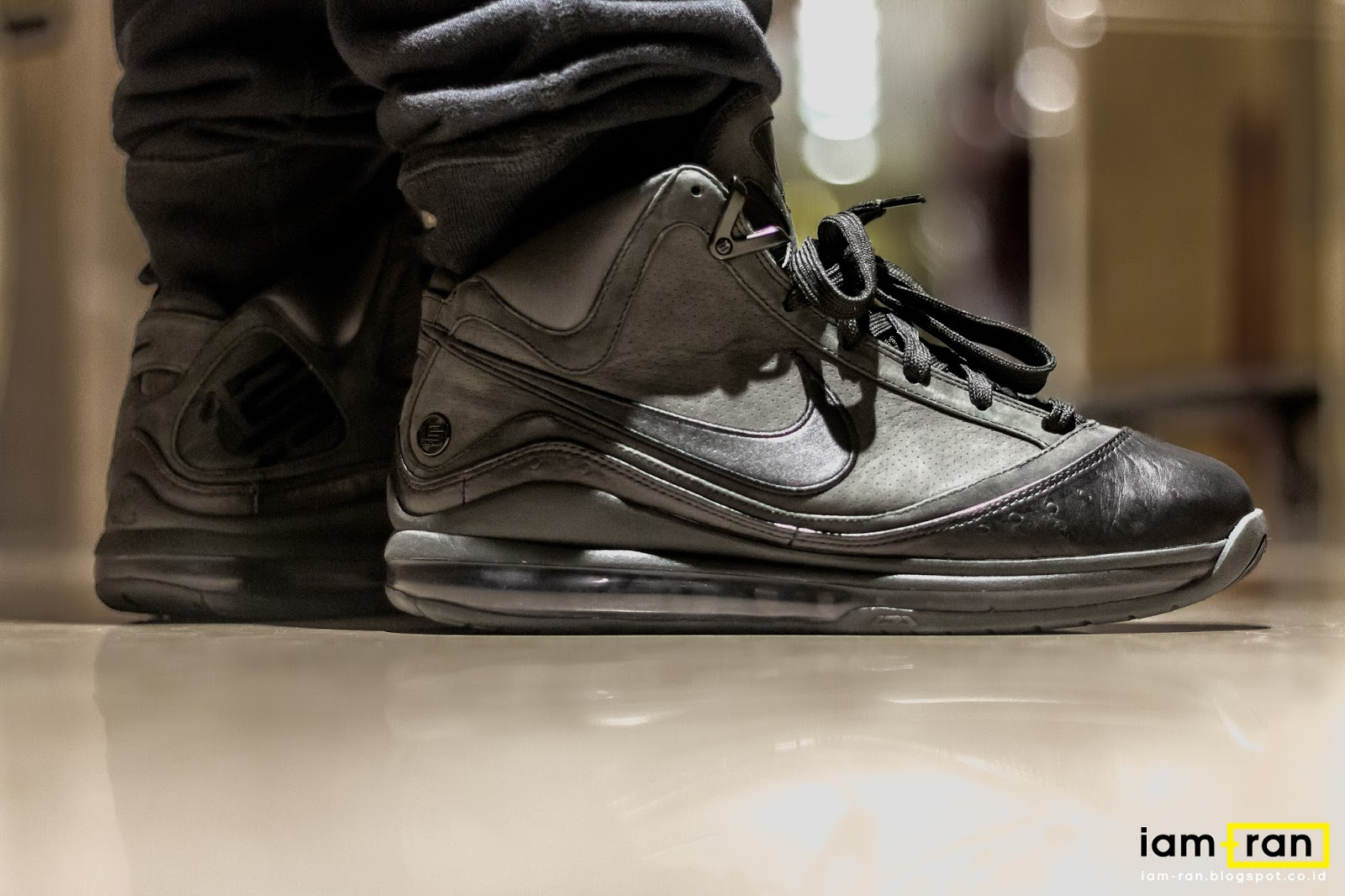 ON FEET : In.Dhika - Nike Air Max lebron 7 X Jay Z