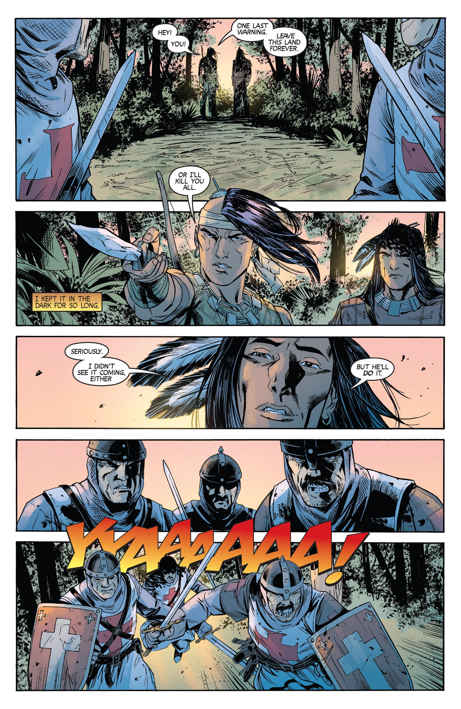 Read online Turok: Dinosaur Hunter (2014) comic -  Issue #2 - 20