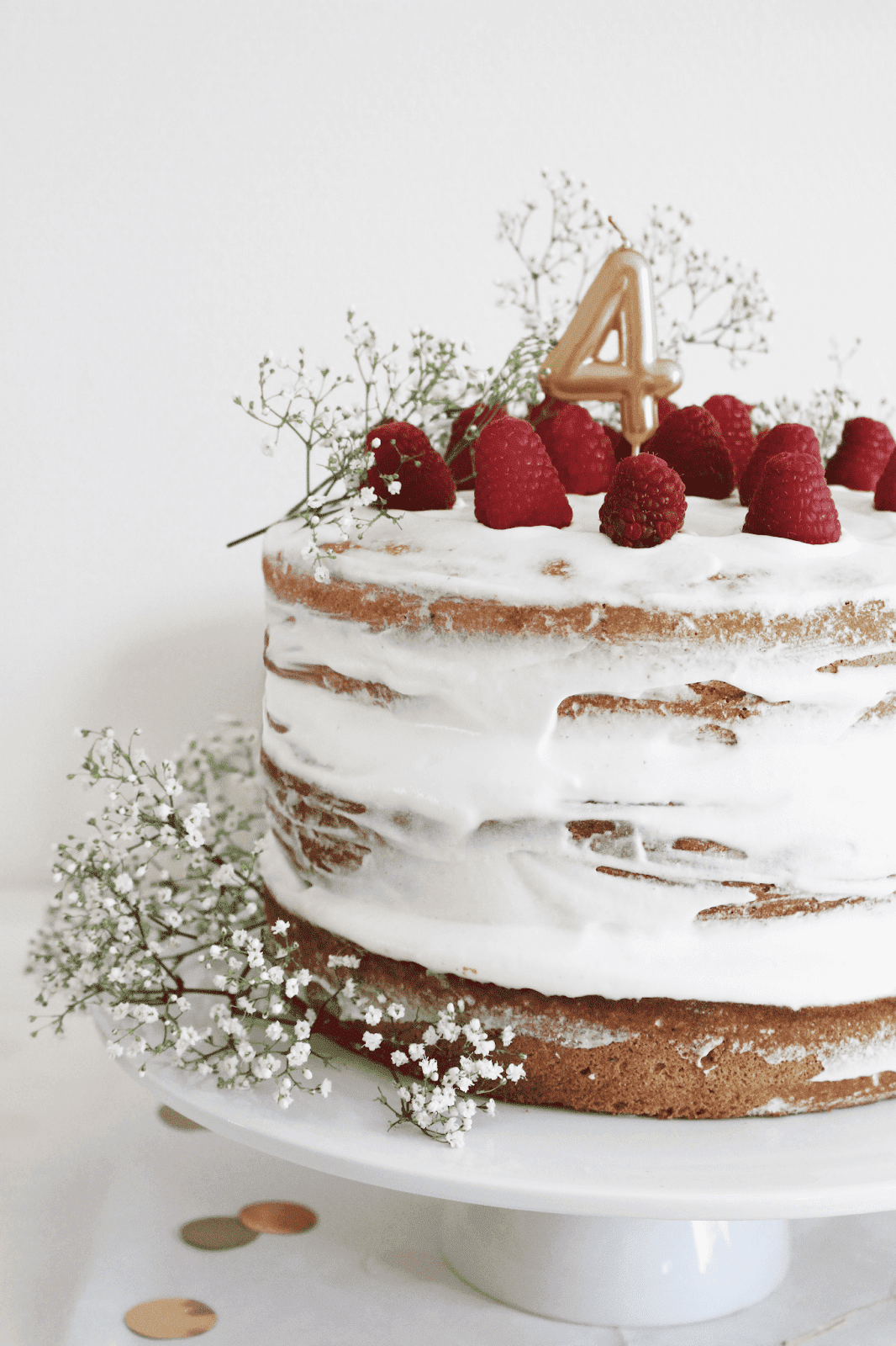 Mon naked cake aux fruits rouges. - Le notebook dEmy