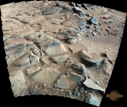 "Sol 318 Curiosity Right Mastcam (M-100) Return to ""Shaler"" 4"