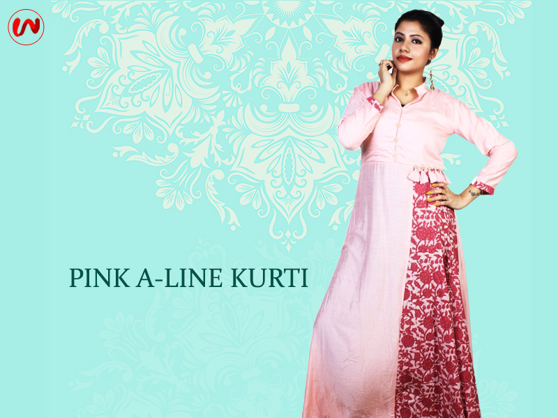 00735af62a A woman s closet looks incomplete without a Kurti. Kurtis are preferred the  most for every purpose. The only difference lies in the fact that what type  of ...