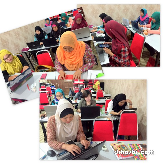 Kelas bina blog secara percuma sehari bersama Awesomazing Team