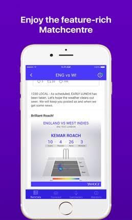 Yahoo Cricket App Gets A Brand New Look! - TECHNOVATION 360