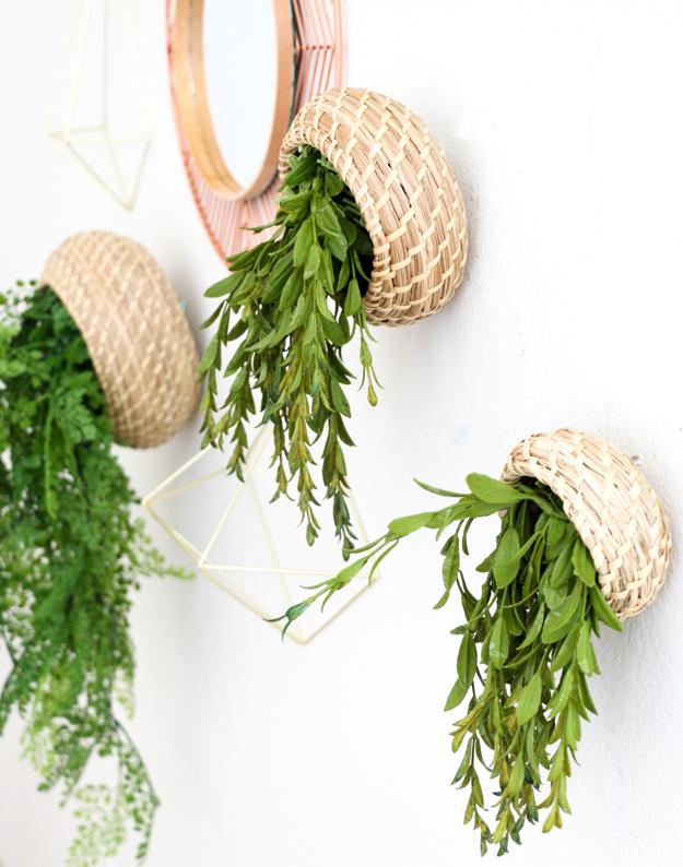 A kailo chic life diy it hanging basket planters - Maceteros colgantes ikea ...