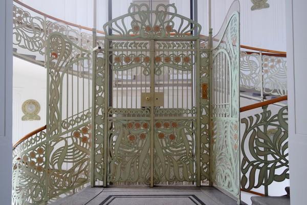 vienne vienna otto wagner art nouveau sécession maison majoliques linke wienzeile intérieur