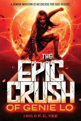 Book Review, F.C. Yee, The Epic Crush of Genie Lo, InToriLex
