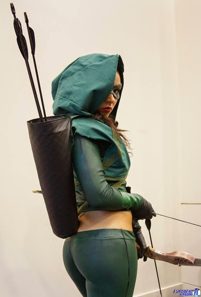 sexy cosplay de Arrow por Soni Aralynn