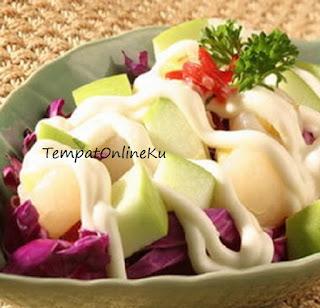 salad buah segar nikmat