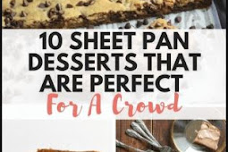 10 Sheet Pan Desserts That Are Perfect For A Crowd