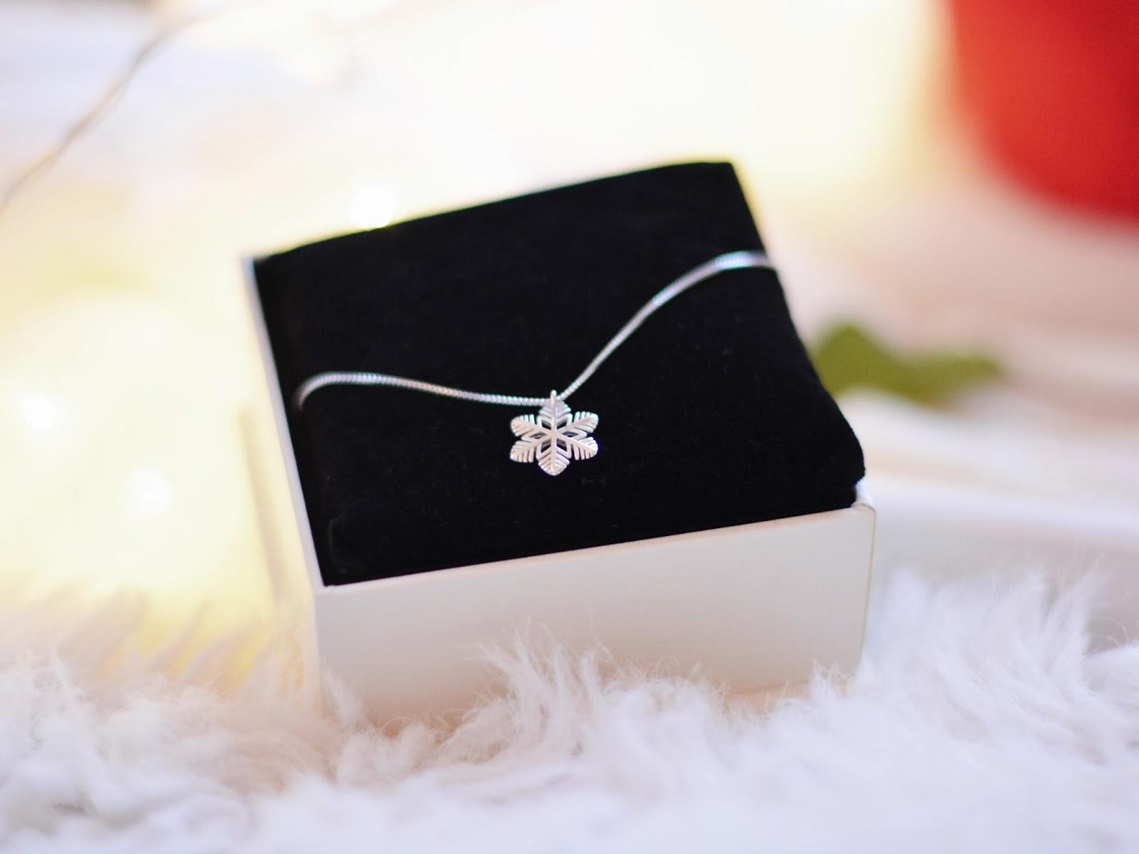 srebrna biżuteria wigilia