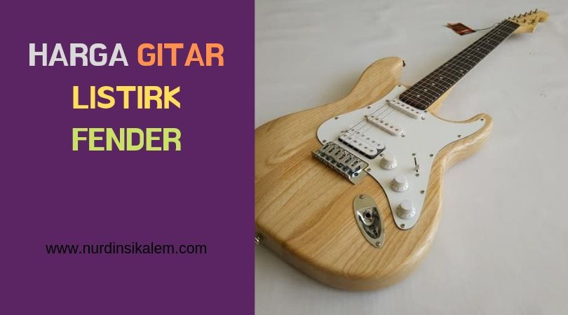 Fender listrik guitar