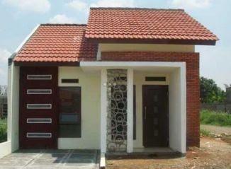 model atap rumah perumahan type 36