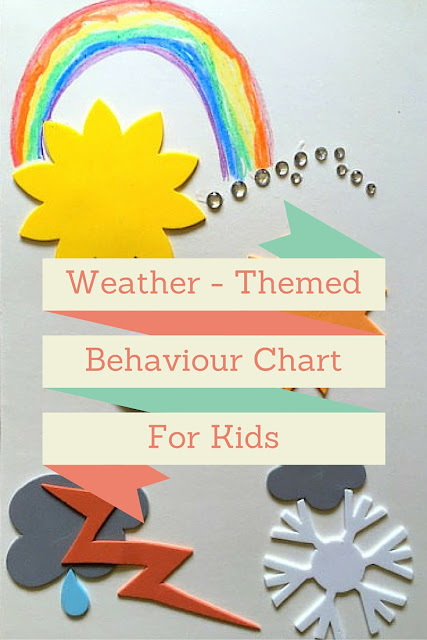 Weather - themed Behaviour Chart for Kids