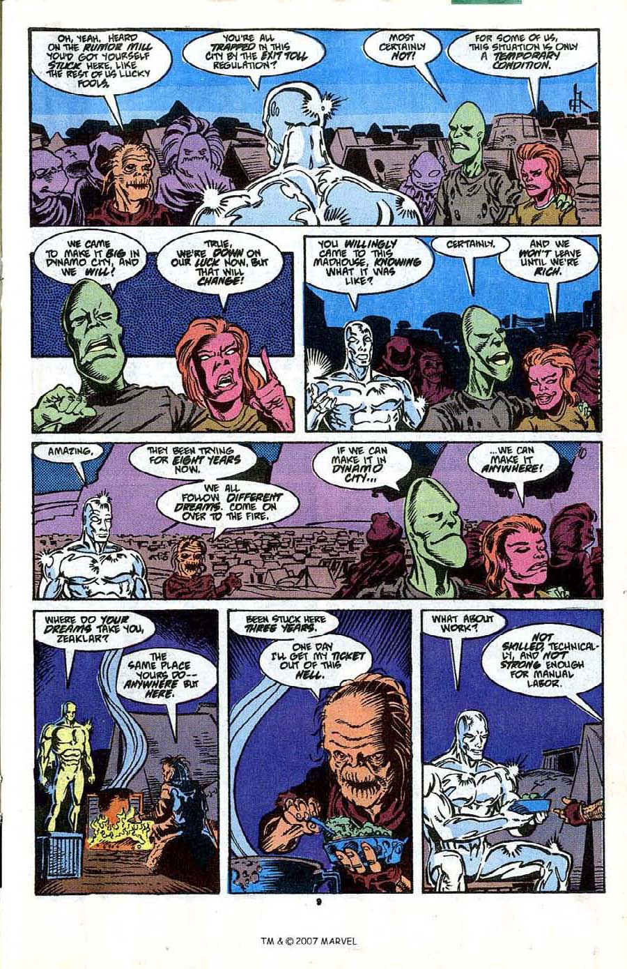Read online Silver Surfer (1987) comic -  Issue #41 - 11