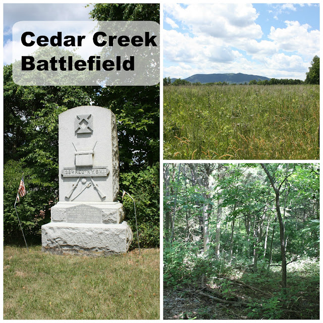 Cedar Creek Battlefield in Virginia