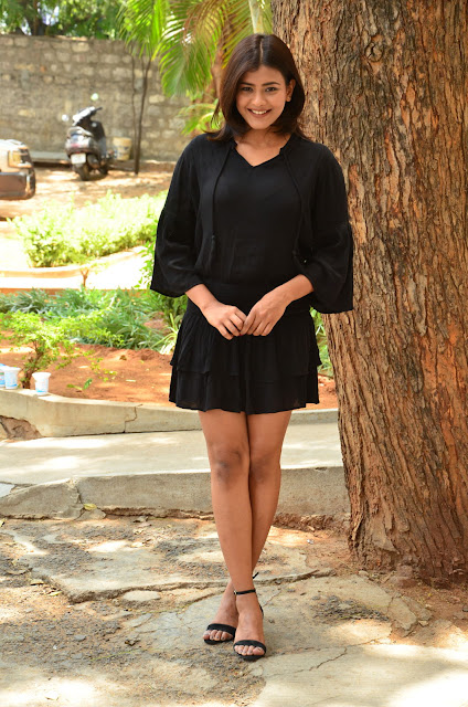 Hebah Patel Hot stills at Angel Movie Teaser Launch