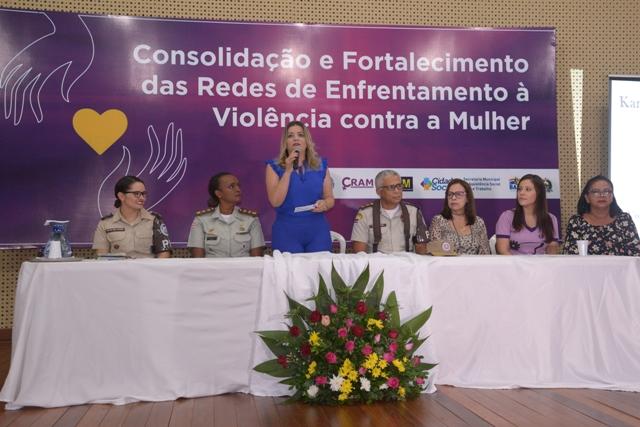Assistência Social promove Roda de Conversa para consolidação e fortalecimento das redes de apoio à mulher vítima de violência