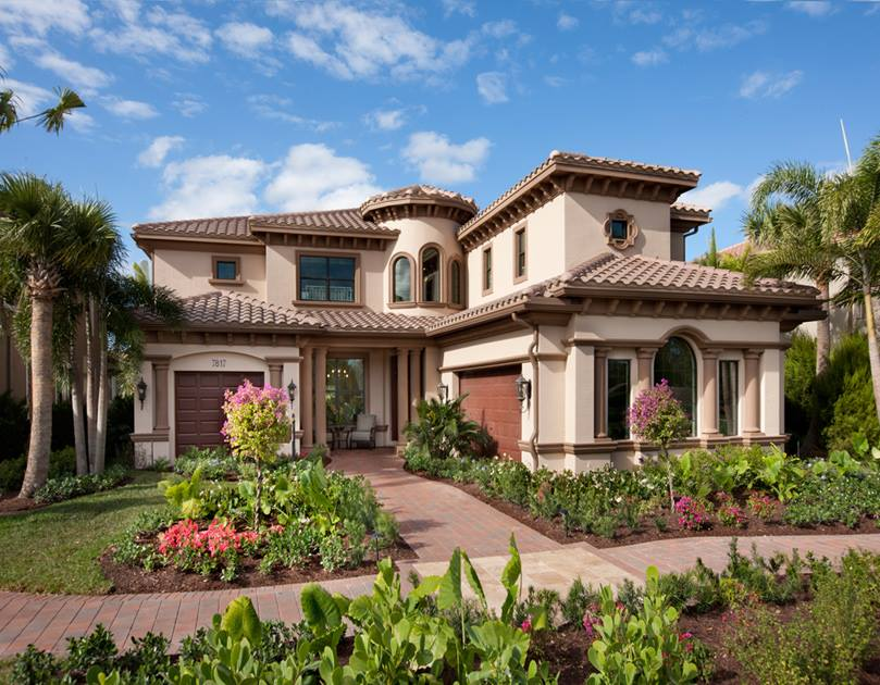 Marvelous mediterranean home exterior and interior design for Mediterranean exterior design