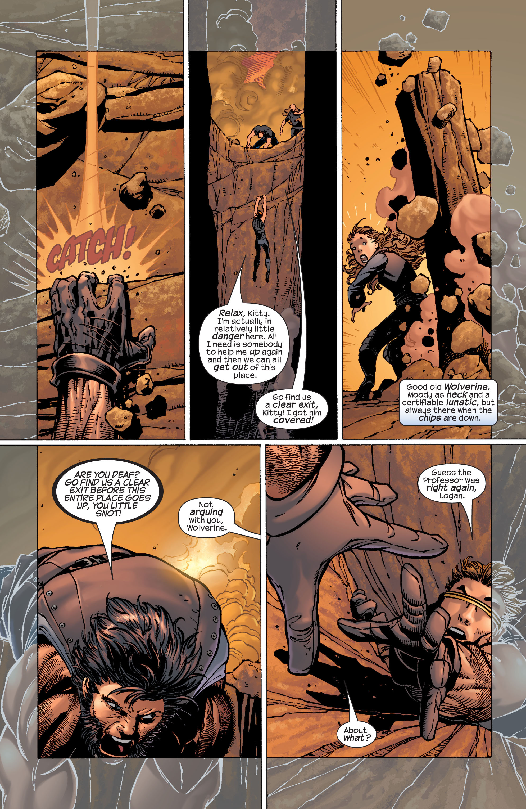 Read online Ultimate X-Men comic -  Issue #29 - 4