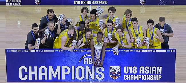 FIBA U18 Asian Championship 2018 Final Standings