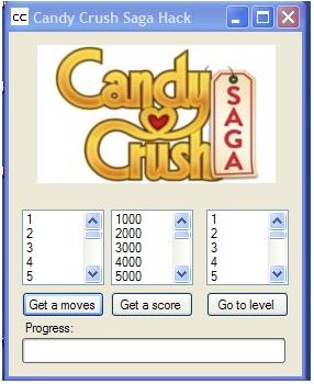 Candy Crush Saga Hack Cheats Engine