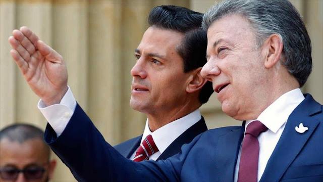 México y Colombia rechazan declaración de independencia catalana
