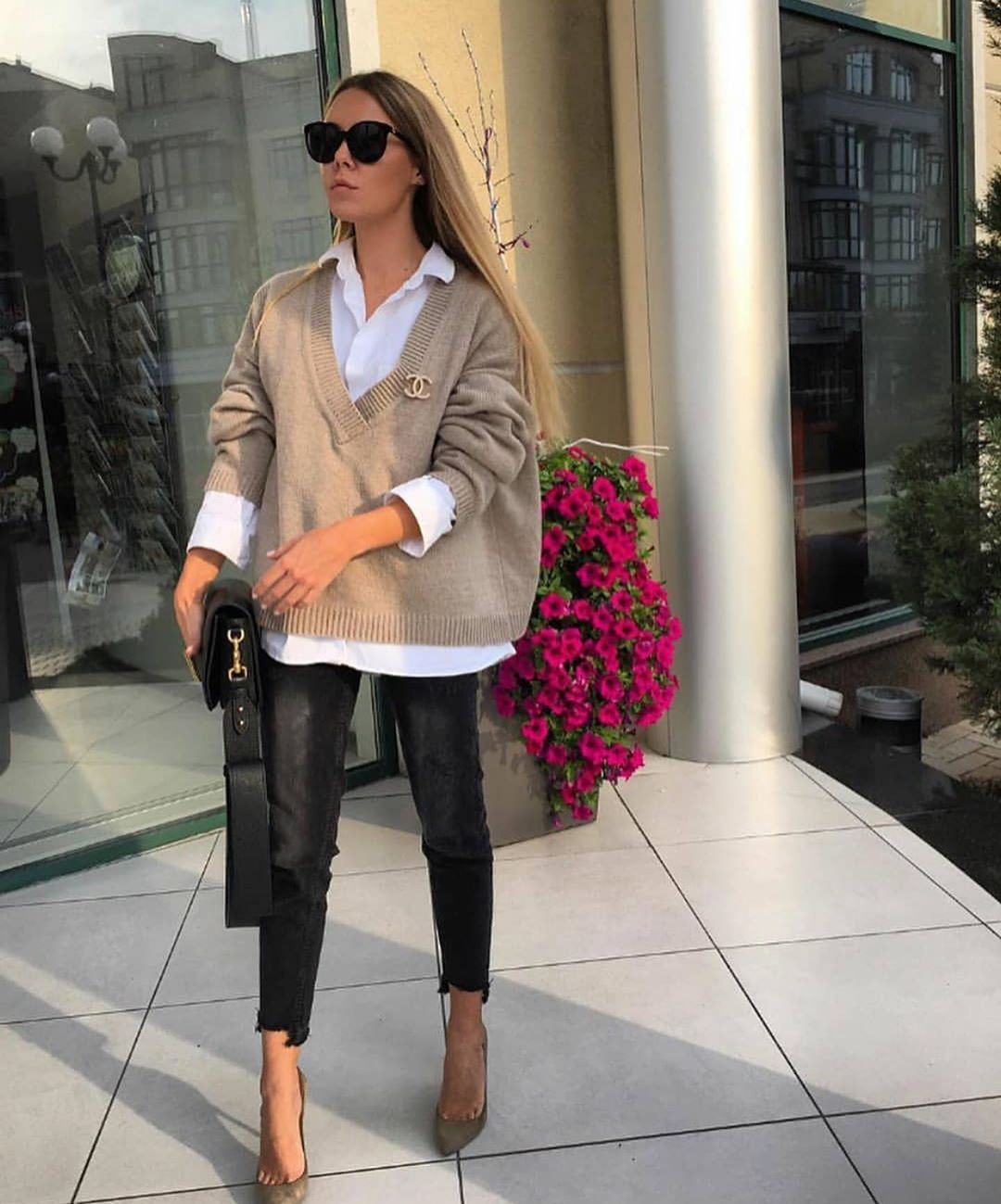 This Easy, Chic Outfit is What We're Wearing Next — @natali_nata_ style