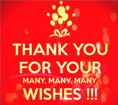 Best Thank you Messages   Images for Birthday Gifts