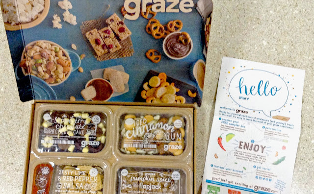 Graze coupon code MARYJ3PRT