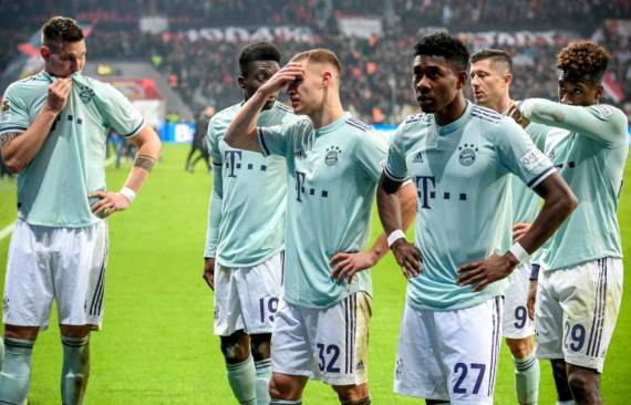 Bayern Munich players stunned after shock defeat
