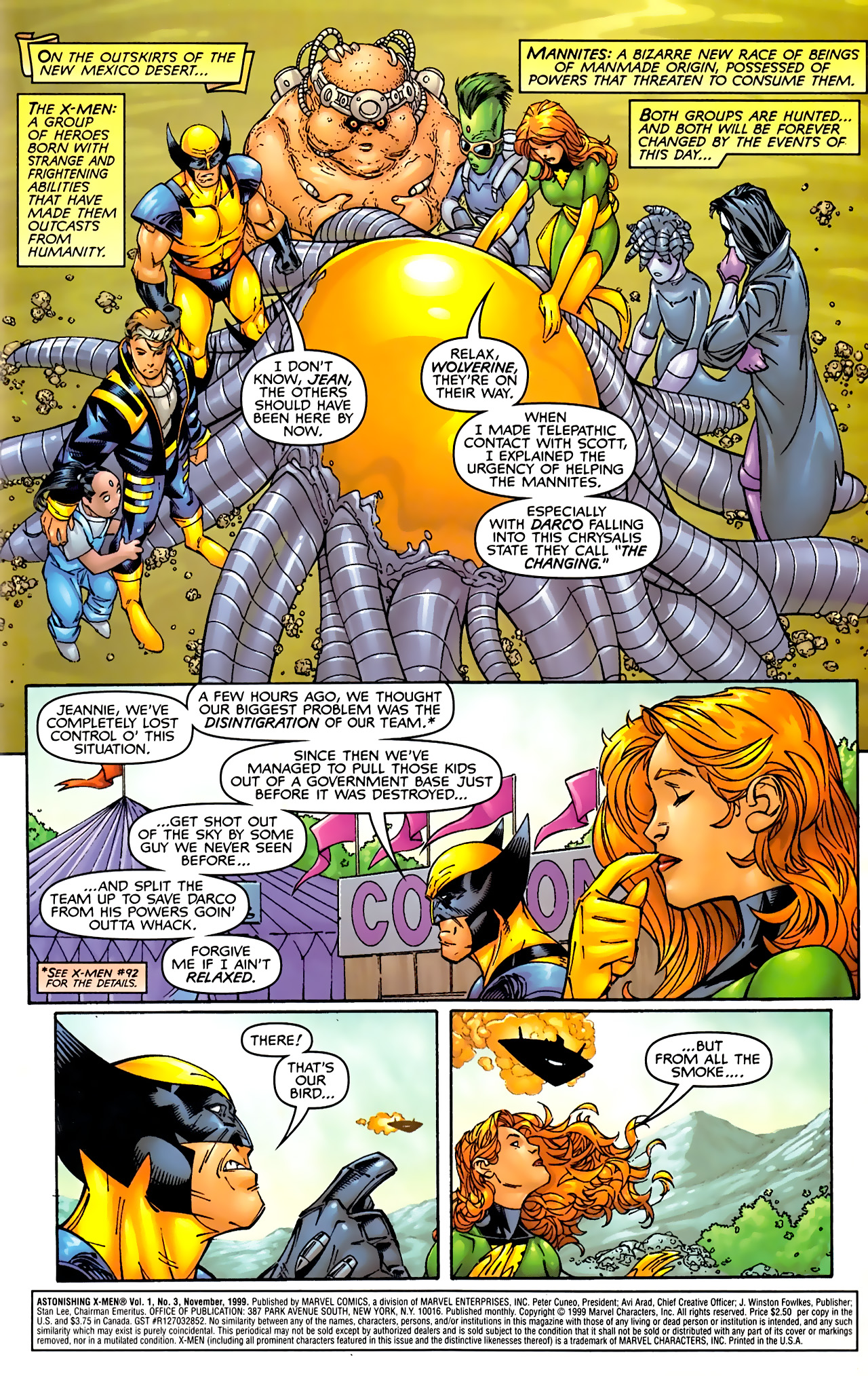 Read online Astonishing X-Men (1999) comic -  Issue #3 - 2