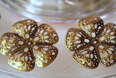 Treasures: brass flower filigree :: All Pretty Things