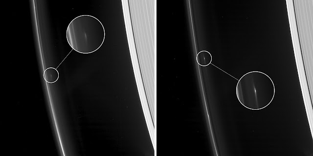 Mysterious Object Orbiting The Ring Of Saturn Caught In Picture By NASA