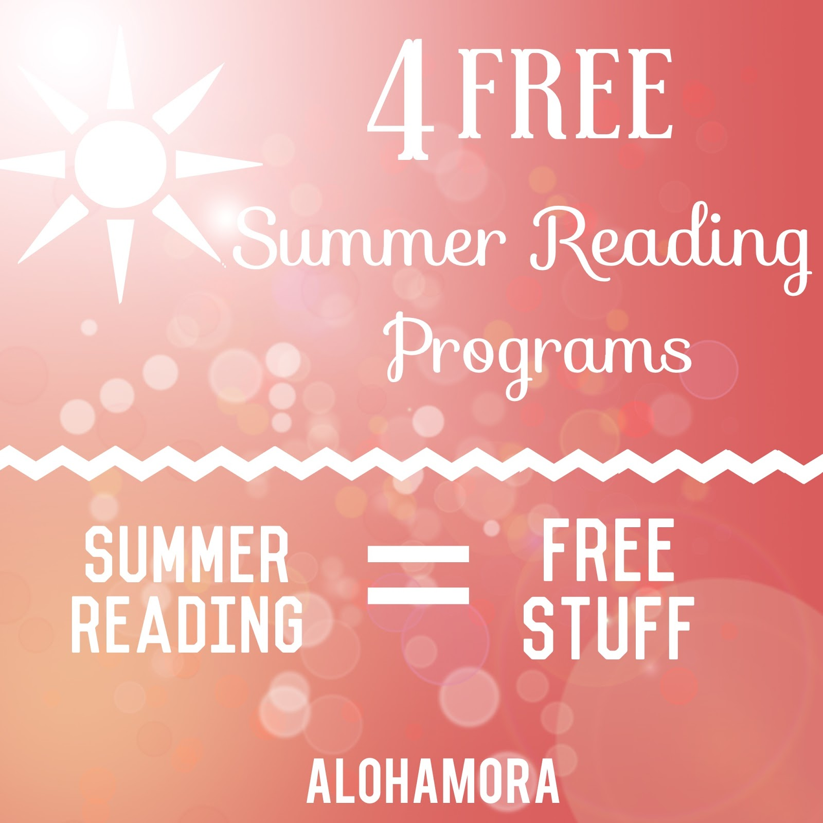 Read during the summer and great lots of free stuff.  These 4 Summer Reading Programs are the best out there.  Alohamora Open a Book