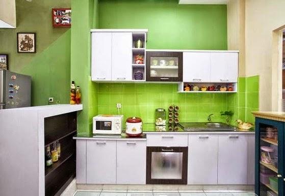 ruang dapur sederhana kitchen set minimalis