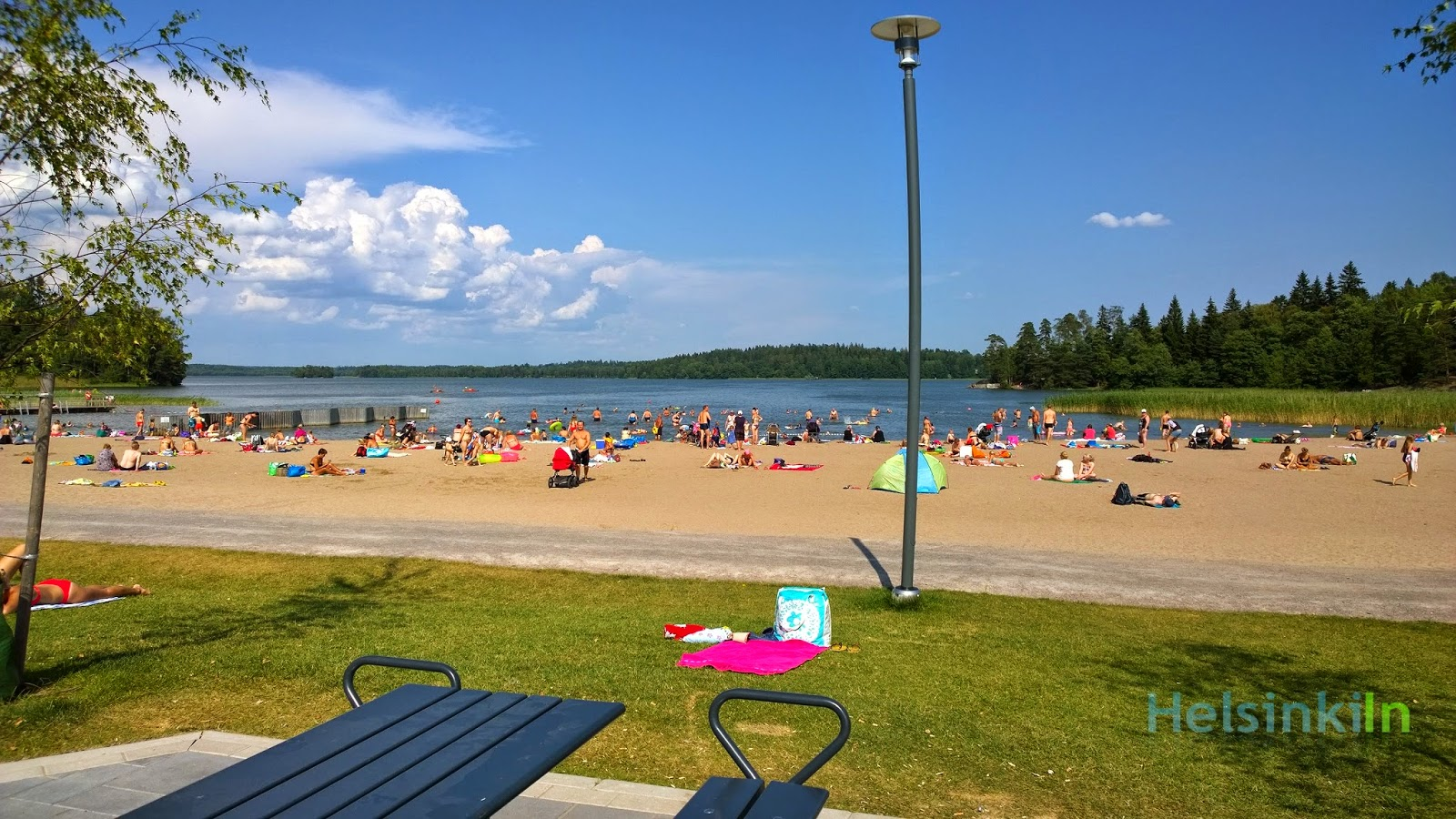 Beach at Lake Bodom