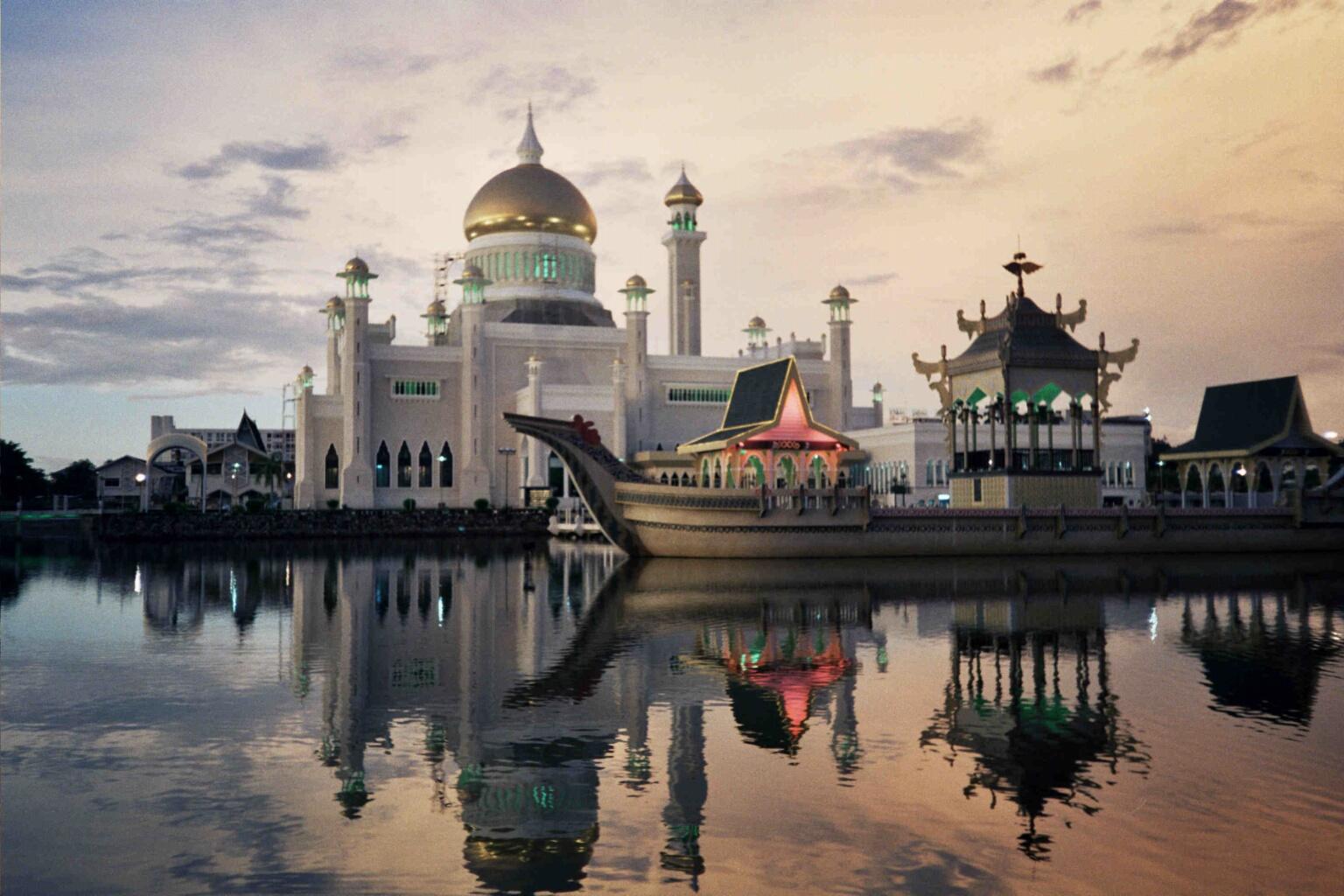 Brunei location on the World Map  |Brunei